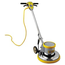 "Mercury Floor Machines PRO-175-17 Floor Machine, 1.5 HP, 175 RPM, 16"" Brush Diameter"