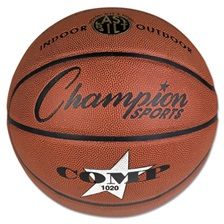 "Champion Sports Composite Basketball, Official Size, 30"", Brown"