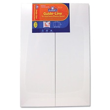 Elmer's® Guide-Line Foam Display Board, 48 x 36, White, 6/Carton