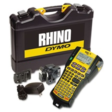 DYMO® Rhino 5200 Industrial Label Maker Kit, 5 Lines, 4 9/10w x 9 1/5d x 2 1/2h