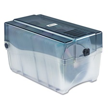 Innovera® CD/DVD Storage Case, Holds 150 Discs, Clear/Smoke