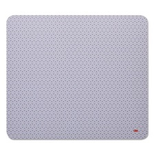 3M™ Precise Mouse Pad, Nonskid Back, 9 x 8, Gray/Bitmap