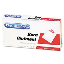 PhysiciansCare® by First Aid Only® First Aid Kit Refill Burn Cream Packets, 12/Box
