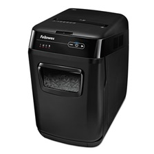 Fellowes® AutoMax 130C Auto Feed Medium-Duty Cross-Cut Shredder, 130 Sheet Capacity