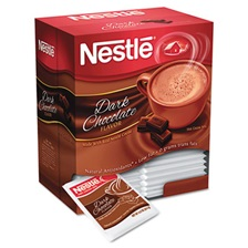 Nestlé® Hot Cocoa Mix, Dark Chocolate, 0.71 oz, 50/Box