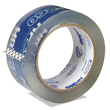 "Duck® HP260 Packing Tape, 1.88"" x 60yds, 3"" Core, Clear, 36/Pack"
