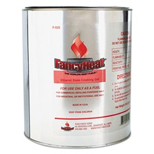 FancyHeat® Ethanol Gel Chafing Fuel Refill Can, 1 Gal, Commercial Refilling Purposes Only