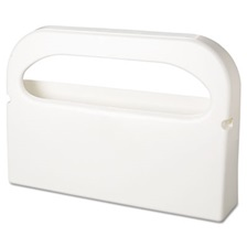 HOSPECO® Health Gards Seat Cover Dispenser, Half-Fold, Plastic, White, 16 x 3.25 x 11.5