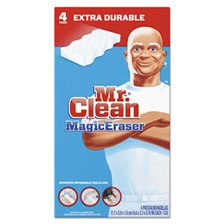 "Mr. Clean® Magic Eraser Extra Durable, 4 3/5"" x 2 2/5"", 4/Box"