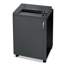 Fellowes® Fortishred 3850S Heavy-Duty Strip-Cut Shredder, TAA Compliant, 26 Sheet Capacity