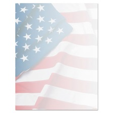 Geographics® Design Suite Paper, 24 lbs., Flag, 8 1/2 x 11, Blue/Red/White, 100/Pack