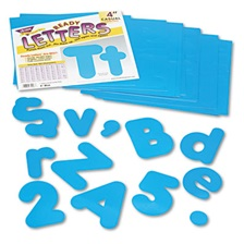 "TREND® Ready Letters Casual Combo Set, Blue, 4""h, 182/Set"