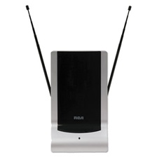 RCA® Indoor Digital TV Antenna, Amplified, 40-Mile Range