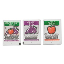 Diamond Crystal FLAVOR FRESH Jelly, Apple, Grape, Mixed Fruit, 0.5 oz Portion Cup, 200 Cups