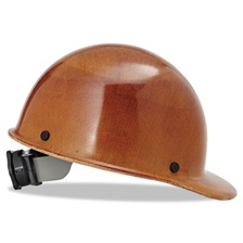 MSA Skullgard Protective Hard Hats, Ratchet Suspension, Size 6 1/2 - 8, Natural Tan