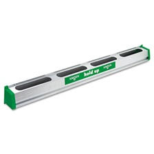 "Unger® Hold Up Aluminum Tool Rack, 36"", Aluminum/Green"