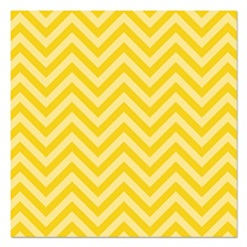 "Pacon® Fadeless Designs Bulletin Board Paper, Chic Chevron Yellow, 48"" x 50 ft."