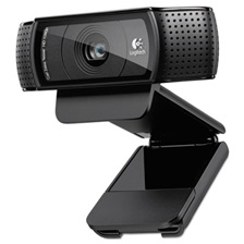 Logitech® C920 HD Pro Webcam, 1080p, Black