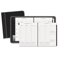 AT-A-GLANCE® Columnar Executive Weekly/Monthly Appointment Book, Zipper, 8 1/4 x 10 7/8, 2018
