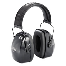 Howard Leight® by Honeywell Leightning L3 Noise-Blocking Earmuffs, 30NRR, Black/Gray