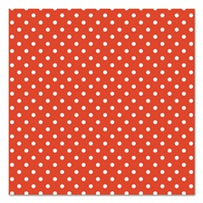 "Pacon® Fadeless Designs Bulletin Board Paper, Classic Dots Red, 48"" x 50 ft."