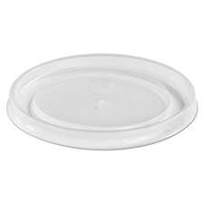 Chinet® Plastic High Heat Vented Lid, Fits 16-32 oz, White, 50/Bag, 10/Bags Carton