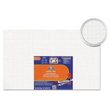 Elmer's® Guide-Line Paper-Laminated Polystyrene Foam Display Board, 30 x 20, White, 2/PK