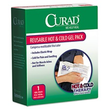 Curad® Reusable Hot & Cold Pack, w/Protective Cover