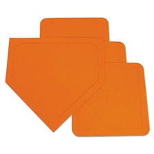 Champion Sports Indoor/Outdoor Base Set, Orange