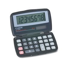 Canon® LS555H Handheld Foldable Pocket Calculator, 8-Digit LCD