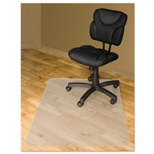 Advantus Chair Mats For Hard Floors, 60 x 46, Slightly Tinted