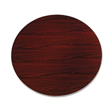"HON® 10500 Series Round Table Top, 48"" Diameter, Mahogany"