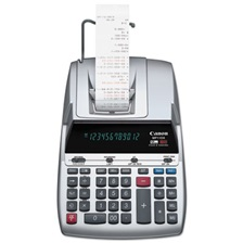 Canon® MP11DX 12-Digit Ribbon Printing Calculator, Black/Red Print, 3.7 Lines/Sec