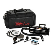 DataVac® Metro Vac Anti-Static Vacuum/Blower, Includes Storage Case HEPA & Dust Off Tools