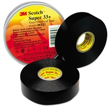 "3M™ Scotch 33+ Super Vinyl Electrical Tape, 3/4"" x 66ft"