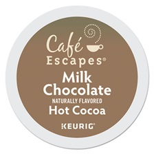 Café Escapes® Café Escapes Milk Chocolate Hot Cocoa K-Cups, 96/Carton