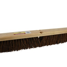 "24"" Push Broom w/Palmyra Bristles"
