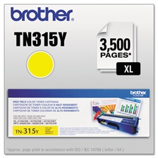 Brother TN315Y High-Yield Toner, Yellow