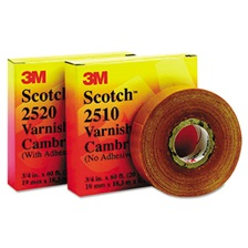 "3M™ Scotch 2520 Varnished Cambric Tape, 3/4"" x 60ft"
