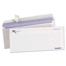 Ampad® Gold Fibre Simply Safe Business Envelope, #10, 4 1/8 x 9 1/2, White, 500/Box