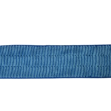 "24"" Microfiber Scrubbing Looped Wet Mop Pad Blue"