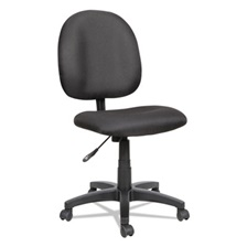 Alera® Alera Essentia Series Swivel Task Chair, Acrylic, Black