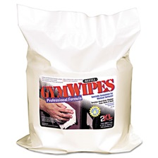 2XL Gym Wipes Professional, 6 x 8, Unscented, 700/Pack, 4 Packs/Carton