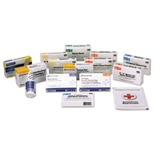 First Aid Only™ Unitized ANSI Compliant First Aid Kit Refill, Class A, 25 People, 84 Pieces