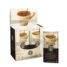Starbucks® Gourmet Hot Cocoa, 1.25oz Packet, 24/Box