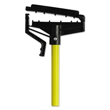 "O-Cedar® Commercial Quick-Change Mop Handle, 60"", Fiberglass, Yellow"