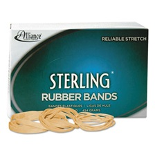 Alliance® Sterling Rubber Bands Rubber Bands, 117B, 7 x 1/8, 250 Bands/1lb Box