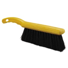 "Rubbermaid® Commercial Tampico-Fill Countertop Brush, Plastic, 12 1/2"", Yellow Handle"