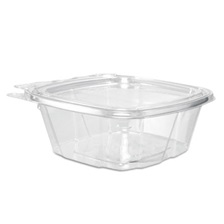 Dart® ClearPac Container, 4.9 x 2 x 5.5, 12 oz, Clear, 200/Carton