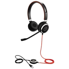 Jabra EVOLVE 40 UC Binaural Over-the-Head Headset